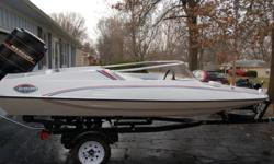Completely refurnished 1976 Bicentennial GT 150 with new floor, interior and exterior paint. The work was completed two years ago. Rebuilt 1979 Mercury 115 Tower of Power added autumn 2015 Internal rebuild included crankshaft, upper and lower bearings and