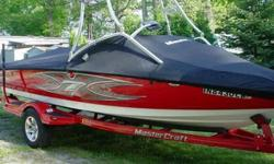 This is a 2004 Mastercraft X7 Wake Board Edition and is in excellent like new condition. It always kept on lift and inside storeage off season. The boat has only a 173 hours total since new. It comes with Perfect Pass and has automatic fill ballist fat