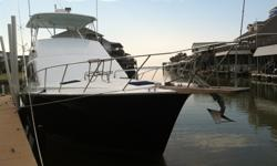 This 1988 Ocean 48 ft. Sportfish in Galveston, Texas is one of the most favorite vessels for those wanting to relax in style as she is absolutely beautiful covering all your maritime activities from offshore fishing to providing a great weekend getaway to
