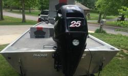 For Sale is an Excellent condition 2010 Bass Tracker Pro 16. This Boat is like new with less than 10 hours on it, the windshield still has the dealers sticker on it. This boat is the all welded aluminum hull design so there are no leaky rivets to worry