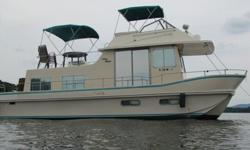 1984 Holiday Mansion Coastal Houseboat 39ft in Very Good Condition. Asking $29,000 Twin Volvo V8's, Heat Inverter, VHF Marine Radio, , Fume Detector, Carrier Roof Top Air , Below Marine AC & heat pump, Electric Refrigerator, Microwave, 4-Burner Gas Range