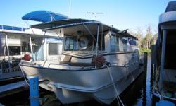 1981 Holiday Mansion 36 ft x 12 ft....with Volvo Penta Diesel engine, AQD-40A. Mechanically sound, structurally wonderful, interior remodeled and really hate to leave. This vessel is a Seagoing hull and really fun to own and enjoy. We have twelve photos