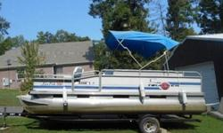 he mission of the Sun Tracker Fishin? Barge 24 XP3 is to provide a large platform for family fishing while still being able to cross over into the realm of family fun and entertaining on the water. She has a proven hull, which we have previously tested,