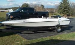 20 feet baha jet boat, seats four , berkeley jet drive with place dirverter, 402 big block chevy, holley carb and fuel pump, alum intake, alum exaust, autometer guages, hei, runs and sounds great. $3500 cash firm. 1-240-527-8563 MikeListing originally