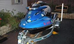 Front and rear touring seats, waterproof cell phone case, Removable dry bag, Depth gauge (information center), Sandbag anchor, Recessed cargo cleats, Tilt Steering, Safety kit, mooring cable.Only 28 Hours on fresh water used (upper Delaware River)!!
