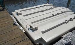 Jet Ski Docks - Roll & Ride. Will fit two 3 seater jet ski's. Payed $3,000 new in 2009. Great condition, asking $1,500 cash, not negotiable. Email address