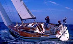 One-owner Kalik 33, well-maintained Dutch design sailing yacht. Full teak decks, race-rigged, huge sail inventory, sleeps 7, large galley, 3-burner stove w/ oven, dedicated nav-station w/ chair. Wheel steering with emergency tiller - Two Compasses,