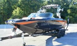 LOOK LOOK LOOK !!!! HIT THE BIG WAKE !!!! LOADED !!!! 2012 MASTERCRAFT X-25,350 HORSEPOWER ILMOR ENGINE,V-DRIVE,3 BALLAST TANKS,2 FAT SACKS,WAKE GATES,POWER WEDGE,PERFECT PASS,POWER WAKEBOARD TOWER,4 SPEAKERS,TEAK PAD ON SWIM PLATFORM,JL AUDIO