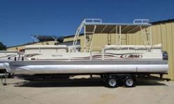 Make ALOHA PONTOONModel TROPICAL SERIESSeries 290 SUNDECKMileage and VINMileage 0 milesVIN WAC31219D606MechanicsEngine 115hp Yamaha EFI 4-strokeTransmission OutboardDrivetrain OutboardFuel Type GASExterior / InteriorBody Style PONTOONDoors 4Exterior Color