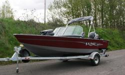 Lund 1650 Rebel XL - Never before has a small fishing boat offered all the features and superior fishability of a large fishing boat. The 1650 Rebel XL is one of the best small aluminum fishing boats on the market, a true rebel on the water.Powered by