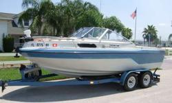 1991 Marlin 195 cuddy OMC cobra 4.3 ltr IOIn storage 18yrs.only 450 hours on hobbs meterunbelievable condition for age of boat.VERY SOLIDand every thing listed works fine except cassette playerSee photos for equipment list.If this boat don't have it,you