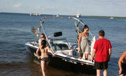 Being sold by boats Captain. Please feel free to contact me. Wakeboard tower with ski and wakeboard racks Indmar 350 engine Perfect Pass cruise control Bimini top and complete cover Full wakeboard ballast package Teak swim platform 119 total hours Video