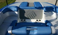 There is 4 years bow to stern full warranty left on it that will transfer. The boat is loaded with just about all the options you could get. 57 HOURS, 5.7 ILMOR, MC SHIELD FLOOR COVERING, SURF TABS, MIRROR - MASTERVIEW VR100, WINDSHIELD - BTS, OVER TOWER