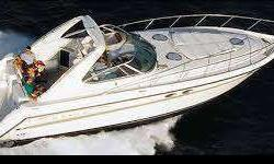 "1997 Maxum LOA 43'7"" electronics include Radar, GPS, plotter, Auto pilot, A/C, generator-diesel, great interior for cruising. One of the largest express cruisers having a 13'6"" beam, feature a large cockpit for entertaining.370 HP Cummins Diesels with"