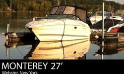 Distant destinations are only a short journey away on the 250 Cuddy Cruiser. This Monterey 250CR is an excellent performer packed with style, smart use of space and many custom features. The 250 is fully ensconced with yacht like luxury features that give