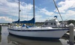 "Price Drop to 39900.Owners not sailing anymore. Current owners have owned the vessel for 25 years. Center Cockpit with WalkthroughSpecifications:* Builder : Morgan Yachts /Catalina* Build Date : 1979* Length: 41,8""* Beam: 14'* Draw: 4.2 '* Rigging"