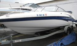 2004 Yamaha SX230 Jet Boat w/ Dual axle trailer - very nice condition !!!Stern and Cockpit FeaturesThe stern has a telescoping swim ladder and water level swim platform that curves up into a raised seating area. These dual platforms provide a great