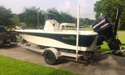 Nautic Star 19102007 Nautic Star 1910 bay boat powered by 2007 115HP Mercury Optimax. Boat is stored in a shop, and it's ready to fish tomorrow. We are trying to sell to buy a bigger boat as more and more friends keep wanting to join us. add ons:-motor