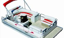 "Beautiful and luxurious best describes the Avalon Windjammer. It is the smart choice for families looking for an affordable luxury pontoon. Standard features include heavy-duty construction, 16"" on-center crossbeams, plush custom-designed furnishings with"