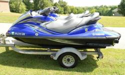 BOTH SKIS RUN LIKE BRAND NEWAND HAVE BRAND NEW BATTERIES AND SPARK PLUGSONLY 155 & 185 HOURS ON EACH(LESS THAN 25 HOURS A YEAR)THE ARE 100% READY FOR THE WATERCOMES WITH A NICE 2008 HIGH DOLLARALL ALUMINUM DOUBLE TRAILERALSO INCLUDED ARE (2) YAMAHA OEM