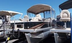 "HIGH QUALITY BEST RESALE VALUE2014 Sweetwater Pontoon Boat 22' 115 YamahaOne of a KindAnd of course Special price includes Boat Motor TrailerPOPULAR FACTORY OPTIONS we Ordered with BoatCabana enclosure with screens Drilled Transom Tubes; 25"" upgrade"