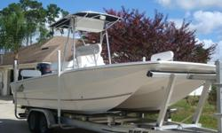 YOU ARE LOOKING AT A PRO SPORTS / PRO KAT 2007 MODEL 2150 BAY KAT WITH LOADS OF FEATURES IN AN EFFORT TO ADD ENJOYMENT TO YOUR TIME ON THE WATER. THE SHINE AND CONDITION OF THIS BOAT IS AMAZING AND IMPOSSIBLE TO CAPTURE OR SHOW WITH A PICTURE. THIS PRO