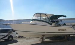 One ownerNever been bottom painted This boat is in excellent conditionThe ultimate in offshore fishing/Diving boat1996 Pursuit 2800 offshore Hardtop center counselYou can tell by the look of this boat it has very low hoursTwin 5.7 XL crusaders freshwater