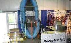 RecreTec Mfg. Inc. We offer SOTAR, AIRE, AVON, ODYSSEY, VANGUARD rafts, RecreTec frames/tables/accessories, Whitewater designs, Sawyer, Carlisle, Lamiglass equipment, Yeti coolers, and more! Full service repair and warranty service center. Raft and