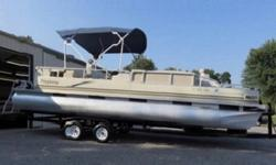 Hull- Overall the outside hull of the boats is in good condition. The blue & white gates have a beautiful showroom shine but have a few dents as well as the toons but overall in nice condition.Interior- The interior of the boat is in like good condition.