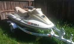 Are looking to add to your adventures on the water? Well this will certainly allow you to do so while having a blast! This is a fantastic deal and includes not only the Sea-Doo but the cover and the trailer! Hurry now while we still have it! Here are the