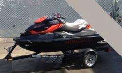 LIKE NEW!!! VERY LOW USE!!!Sea-Doo's intelligent suspension (iS) system on their PWC's is not new, and we've grown pretty accustomed to its abilities, but they bear repeating. The team at Sea-Doo learned early on that taming the water hasn't been too