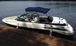 This has been a very well maintained 2003 Sea Doo Utopia 205 and always stored off the water in our garage. Recent overhauls have been completed including a new jet pump for improved performance. The radio is new and includes both bluetooth and auxiliary