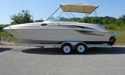 OHJVCGFDXXGFHGJHKLM;Lake Ready 2001 Sea Ray 240 24' deck boat that the whole family and friends can enjoy. Ride above the rest, Sea Ray is known for its craftsmanship and quality and produce some of the best boats on the water today. This boat is equipped