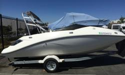 2005 Sea Doo Challenger 180 with a wake tower. The boat is in good condition and runs great with a fully rebuilt supercharger in the spring of 2014 with a new impellar and wear ring, new tires on trailer and the full 100 hour maintenance service. It can