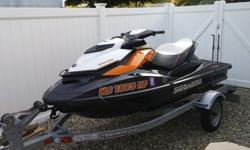 0987656456rt6y7................For sale is a mint condition 2013 Seadoo GTR 215 with 39 hours on it, also included is a 2014 Yacht Club galvanized trailer(shown in last 2 photos, not the Triton Trailer you see in some photos) This machine was immaculately