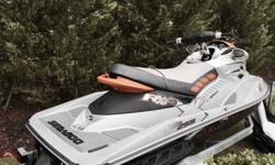 ;;;This ski is like new had 3 month old battery. Purchased in 2011 as leftover from Seadoo dealer. Excellent condition! Fresh water use only has sat in ski platform its entire life. The RXP-X is an electrifying 2-seater that?s elevating the musclecraft