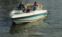 1993 Model 190SE. 19 feet. Open bow-walk through windshield. 302 I/O with Cobra outdrive. 45 mph! Always kept inside, Interior like new. Low hours. Bimini top never up. With trailer. Electric boat lift with new canvas top sold separately or negotiate for
