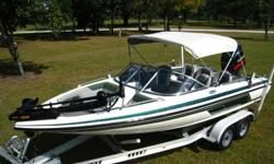 2005 Skeeter SL190 Fish n SkiOnly 150 hoursFinish is white gel coat with Green Metalflake accents.19ft overall length, hull surface is in excellent condition.Interior is very good overall.Equipped with a Yamaha 150Hp V Max outboard.Full dashboard