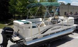 IF YOUR LOOKING FOR A EXCELLENT RUNNING, AFFORDABLE PONTOON BOAT IN GREAT CONDITION THIS ONE IS FOR YOU!!!!! BE SURE TO WATCH THE VIDEO AND YOU WILL SEE AND HEAR THIS BEAUTY RUNNING 19 MPH.Keywords...corvette, jet ski, Kawasaki, motorcycle, wave runner,