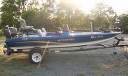 WHY BUY ALUMINUM AND BLOW AROUND THE LAKE WHEN YOU CAN HAVE FIBERGLASSStratos 176 XTWhy settle for aluminum?Fall is right around the corner and everybody knows that it's the best time to fish. This is the boat for the fisherman in you! Excellent