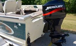 Limited edition 1999 Smokercraft Fazer fish and ski. This boat is in really nice condition inside and out. The boat is around 17.5 feet long and is about 91 inches wide, which makes it very easy to launch by yourself. It is a very deep V. The width and