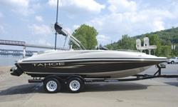 SUPER MINT ??? 2008 Tahoe 215 Fish Deck edition deck boat. This one owner boat is in excellent condition and shows to have been hardly used. Boat has always been stored indoors.( ?° ?? ?°) ??Hull:overall appears to be in excellent condition with out any