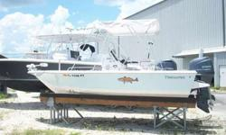 * 2013 19 Tidewater. Very popular Bay Boat! * Purchased new in 2013. Owner us upgrading to a larger Center Console. Dry stored since new. * This boat is loaded with options. About 10k new. * Powered by a Yamaha F115 4-Stroke ( 90 hours) Yearly Service