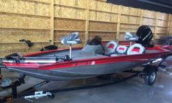 2012 BASS TRACKER PRO 175 TXWRARE 75 HP MERCURY 2 STROKE OPTIMAXTWO PROPS INCLUDED (3 AND 4 BLADES)MINNKOTA TROLLING MOTORLOWE FISH FINDERINCLUDES FACTORY COVERLESS THAN 10 HOURS ON BOAT AND MOTORIMMACULATE CONDITION - STORED INDOORSCONTACT SCOTT AT
