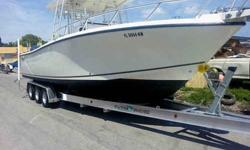 """Triple Axle Aluminum Boat Trailer by SEA-TECH Trailers Includes 7-1/2"""" I-beams, 3 sets of Kodiak disc brakes and 10,000 LB capacity for a 30 - 32' boat Call 305-778-5049"""