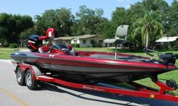 >>>>>>>BOAT: (TJZ1P376J800) 2000 TRITON TR-21 20.6' BASS Boat. Color is Red/Black/Silver Metallic - Very Sharp looking! Extremely well built Bass Boat - Top of the Line. The boat is completely solid inside and out! All Compartment lids are in Excellent