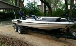 1999 triton bass boat tr21 in great condition ready to fish,has a 1999 Yamaha vmax 225 3.1 that runs great.as 120 psi on all cylinders.pealed off aftermarket decals off to put factory decals back on. Boat itself is in great condition,has spme scratches