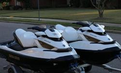 2011 Sea Doo Gtx , Great pair of 2011 Seadoo GTX IS 260 Limiteds with a Triton elite trailer. One seadoo has 15 hrs while the other has 80 hrs. Both seadoos are in great shape and are suspension models that have the Seadoo IBR system. Speed, handling, and