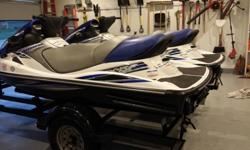 Model Year:2012, Trailer Included:Yes, These units are in Great Shape! They only have 10 hours on one unit and 11 hours on the other. They were winterized last year and have been serviced. Motor oil changed and ready for the water. Wave runners come with