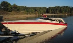 1989 Wellcraft Scarabfor sale is a rare and extremely nice 1989 Wellcraft Scarab Panther 30' with twin 454 V8 420HP each with 580 hrsThis boat is well maintained and just had a tune up done, both motors runs very strong and everything works as it